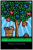 Maryland Crab Tree Poster